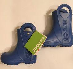d948c6b52a1b1 Crocs Kids Handle It Rain Boot New - Size c8 - Sea Blue Roomy  fashion   clothing  shoes  accessories  kidsclothingshoesaccs  boysshoes (ebay link)