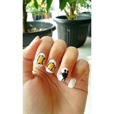 Nail art film strip