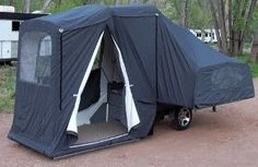 Roll a home tiny tent trailer