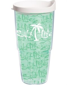 Salt Life   Salt Life - Palm Tree Wrap with Lid Tervis cups....I love them~