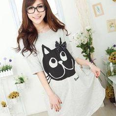 Camiseta gato / cat tee 2wh308