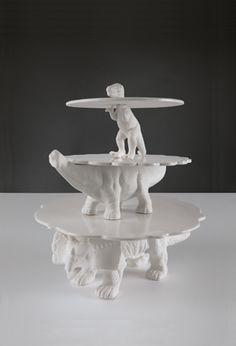 Dino Cake Plates | Carolina Grassi and Lilli Bertoni