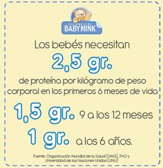 #alimentación #necesidades #bebés #meses