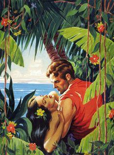 Romancing the jungle.