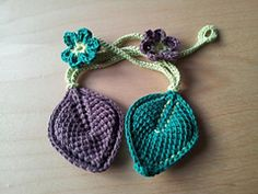Ravelry: Tunisian Crochet Leaf pattern by Anette Bak