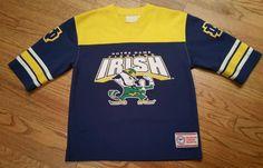 Notre Dame Fighting Irish Football Jersey Shirt Youth Medium (10-12)rare vintage #NotreDameFightingIrish