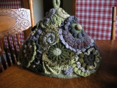 Ravelry: unsew's Free-form covered Tea Cozy