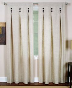 I want to make pleated curtains like this only striped.