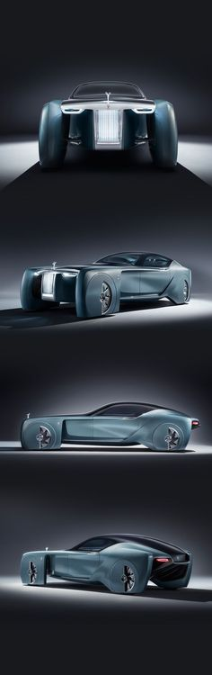 Rolls-Royce 103EX is designed like an individual sculpture with one seamless surface. #future #conceptcar #luxury