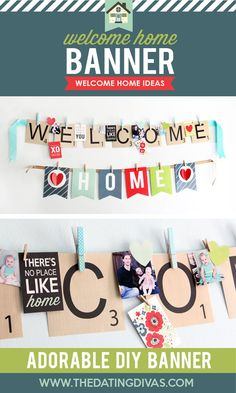 Welcome home decoration kit.
