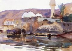 Tiberias 1905-1906 by John Singer Sargent