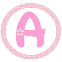 Alfabeto - Imprimibles de ballet.   Ideas y material gratis para fiestas y celebraciones Oh My Fiesta!