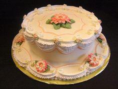the lambeth cake decorating Pretty Cakes, Cute Cakes, Beautiful Cakes, Amazing Cakes, Royal Icing Cakes, Cake Icing, Cupcake Cakes, Ice Cake, Cute Birthday Cakes