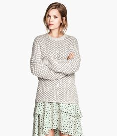 Texture-knit Sweater | H&M US