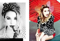 ELIZABETH OLSEN VS MAGAZINE FUN SEXY PHOTOSHOOT PRINTS FASHION SUNGLASSES LEOPARD HEELS TIGHTS SMILE SCARF HEAD ARAP GLOVES 4