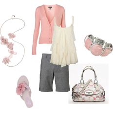 Pretty in Pink, created by lislyn on Polyvore