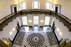 About the Great Hall and Tulip Stairs at the Queen's House Greenwich, designed by Inigo Jones and known as England's first Classical building Anne Of Denmark, Royal Residence, Maritime Museum, Architecture Details, House Architecture, Wedding Venues, Stairs, Mansions, House Styles