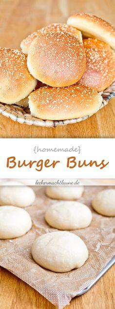 Burger Buns {mit übernachtgare}