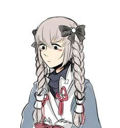 Poor Takumi <<< It looks like Elise did his hair.