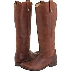 Frye Melissa Button boot in cognac