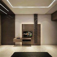 Tv Wall Decor, Tv Unit, Design Ideas, House Design, Doors, Interior, Furniture, Home Decor, Decoration Home