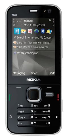 Nokia N78 Device Specifications | Handset Detection