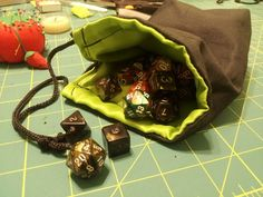 Lined Dice Bag Tutorial!