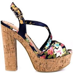 cf10e82d4582 Party Time heels Kimono Navy brand heels Chinese Laundry Navy Heels