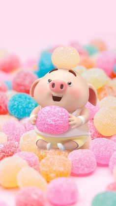 Pig Wallpaper, Disney Wallpaper, Mobile Wallpaper, This Little Piggy, Little Pigs, Cute Piglets, Pig Drawing, Pig Illustration, Pig Art