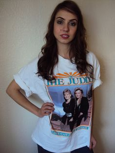 Vintage 90s The Judds Country Rock Concert T by nanapatproject, $38.00
