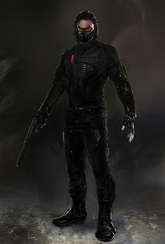 Captain America: The Winter Soldier - Bucky Barnes by Rodney Fuentebella