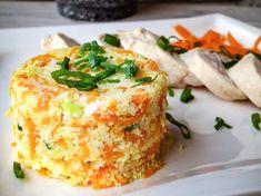 jedálniček na chudnutie pre ženy Cornbread, Baked Potato, Quiche, Mashed Potatoes, Baking, Ale, Breakfast, Ethnic Recipes, Fitness