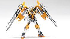 GUNDAM GUY: GUNDAM GUY: READERS FEATURE GUNPLA BUILD - 1/100 Gundam-00 Rebuilt by Reimer