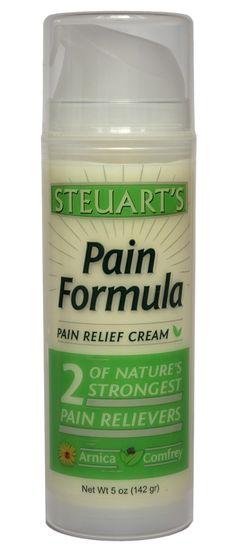 Steuart's Pain Formula 5oz. - h2022   Steuart Laboratories