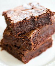 Guinness Brownies - An easy dessert for your St. Patrick's Day festivities!   browneyedbaker.com