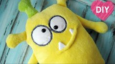 Monster pillow - plushies toys. Easy tutorial. You must make it✌️