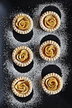 Apple Rose Tartlets