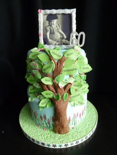 When youve got so many relatives, maybe its nice to have all their names on a tree of life type cake. And the pictures edible too. Life Tree Gluten Free Birthday Cake
