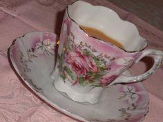 Vintage German rose teacup 1 by eg2006, via Flickr