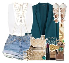 """313. - August 29th, 2015."" by janiyah-michelle ❤ liked on Polyvore featuring H&M, Candie's, Bobbi Brown Cosmetics, River Island, Rolex, NARS Cosmetics, Fashion Fair, Gianvito Rossi, Forever 21 and Gold Philosophy"