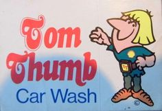 Tom Thumb car wash was the first automatic car wash in Christchurch at the Ferry Road Petrol Station. New Zealand.