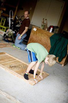 DIY: Make Your Own Sliding Barn Door TV Cover   KristenDuke.com tutorial