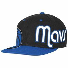 b57e4344a80 DALLAS MAVERICKS ADIDAS SIDE LOGO WOOL BLEND SNAPBACK CAP - BLACK BLUE