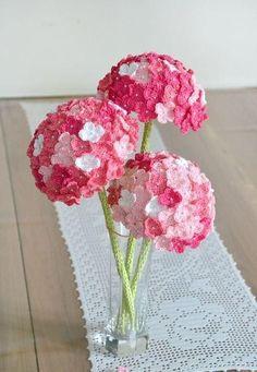 Häkelblumen: 125 Modelle, Fotos und Schritt für Schritt #125er #häkeln #crochet #anfänger #häkelanleitung #applikationen #anleitung #stricken