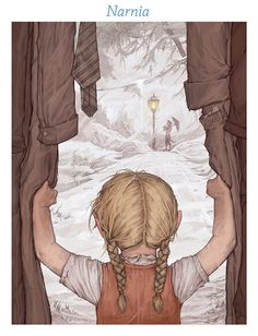 Chronicles of Narnia drawing