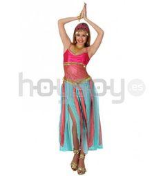 #Disfraz de #bailarina #árabe para vivir las mil y una noches #Carnaval #Disfraces #Chica