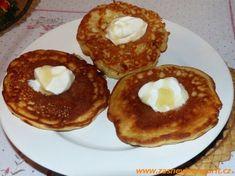 Dietní lívance - DIETA.CZ Pancakes, Breakfast, Food, Fitness, Diet, Morning Coffee, Essen, Pancake, Meals