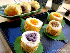 "Filipino ""sushi"" - a twist on kakanin"