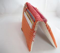 How to make this wallet - All wrapped up: Patchwork-y Bifold Wallet Tutorial