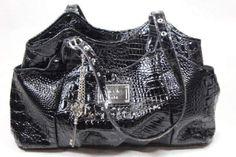 Nicole Miller Womens Black Purse Shoulder Bag #NicoleMiller #ShoulderBag